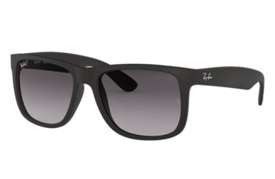 861adeabd0 Justin Classic Ray-Ban RB4165 Noir - Nylon - Verres Gris - 0RB4165601 8G55
