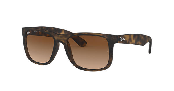 52385f93893 Ray-Ban Justin Classic RB4165 Tortoise - Nylon - Brown Lenses -  0RB4165710 1355