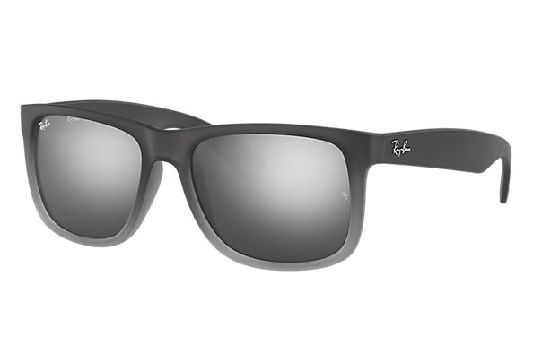 a899041c48 Ray-Ban Justin Classic RB4165 Black - Nylon - Grey Lenses ...