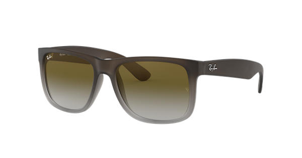 02cd5f917cf Ray-Ban Justin Classic RB4165 Brown - Nylon - Green Lenses -  0RB4165854 7Z55