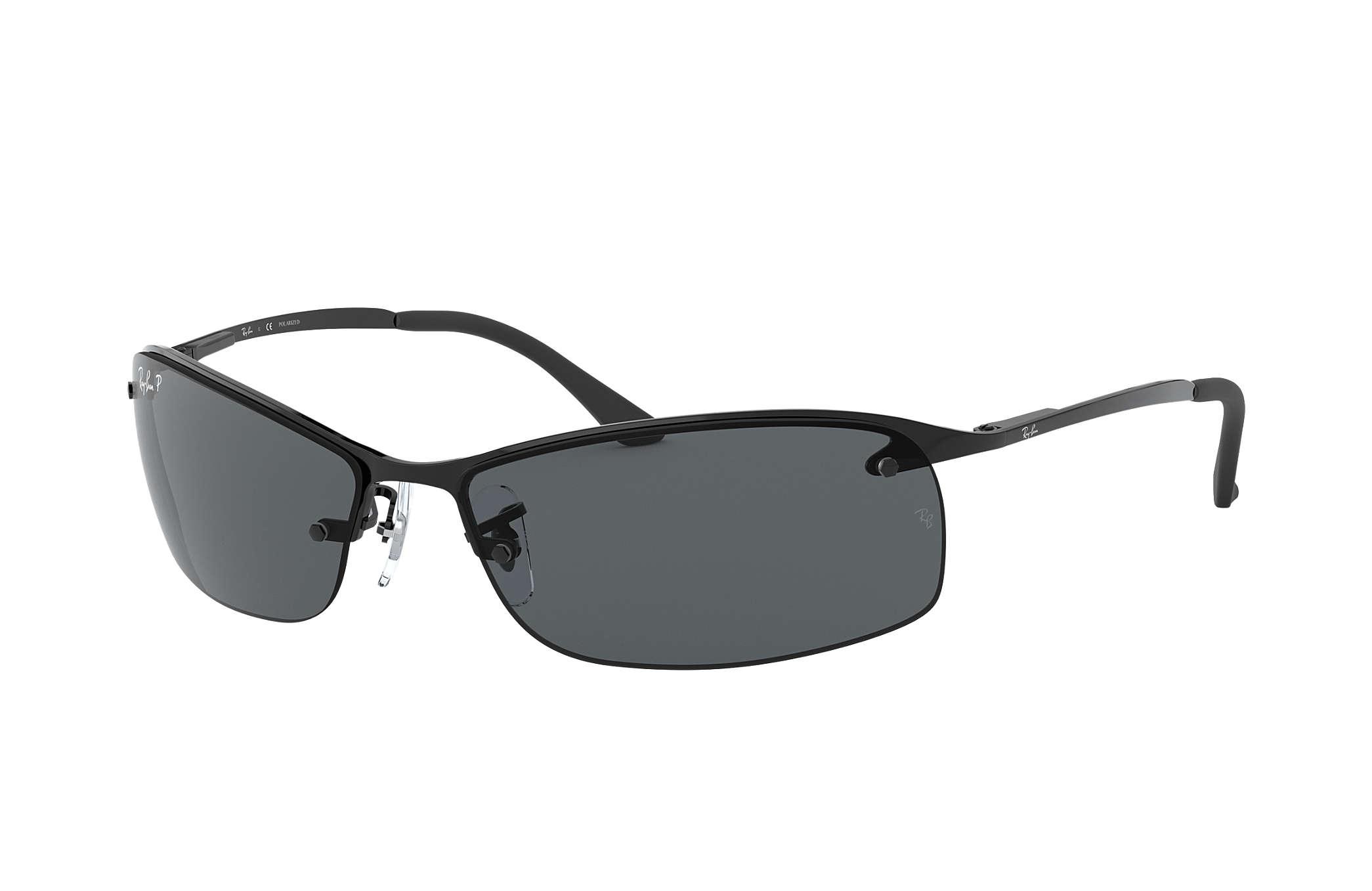 ray ban sonnenbrille metallic rb3183 grau 63