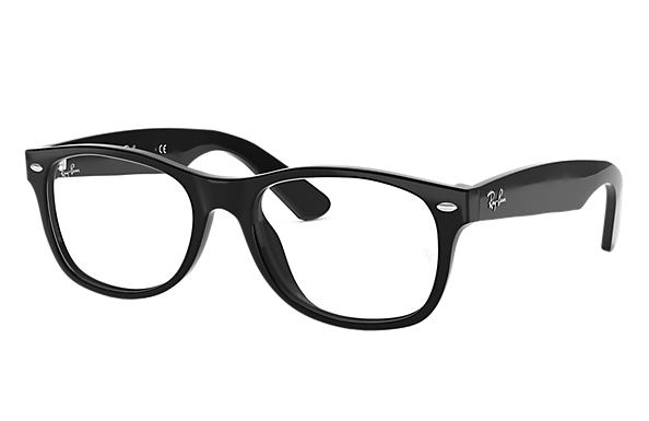 레이밴 Eyeglasses New Wayfarer Optics 블랙