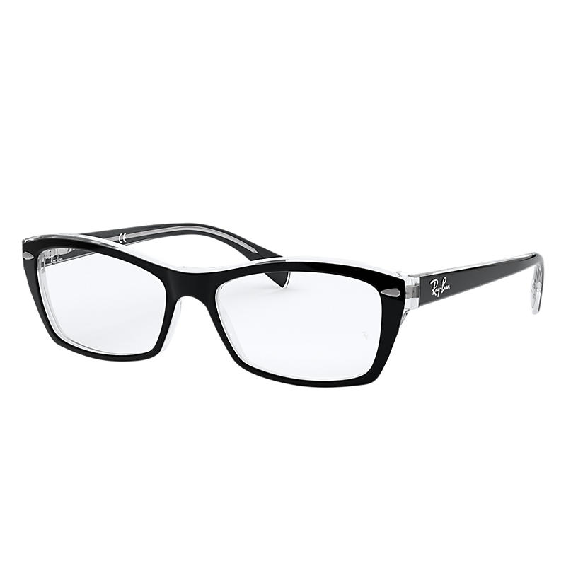Image of Ray-Ban Black Eyeglasses - Rb5255