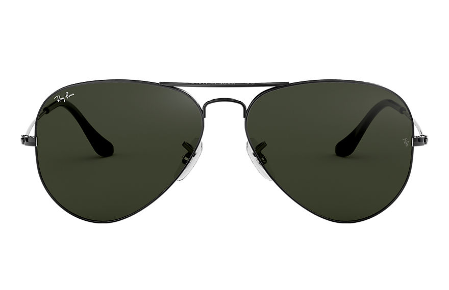 Ray-Ban  sunglasses RB3025 UNISEX 062 aviator classic polished gunmetal 805289601708