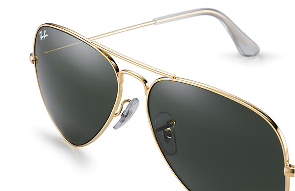 ray ban aviator original test