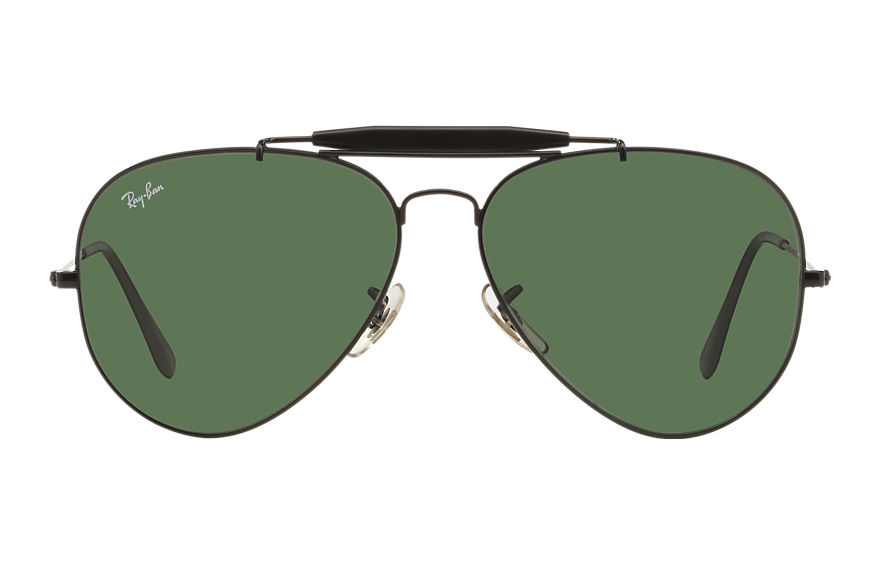 Ray-Ban  sunglasses RB3029 UNISEX 004 户外人ii 黑色 805289621140
