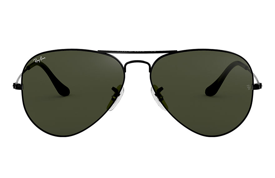 Ray-Ban  sunglasses RB3025 UNISEX 049 aviator classic polished black 805289628231