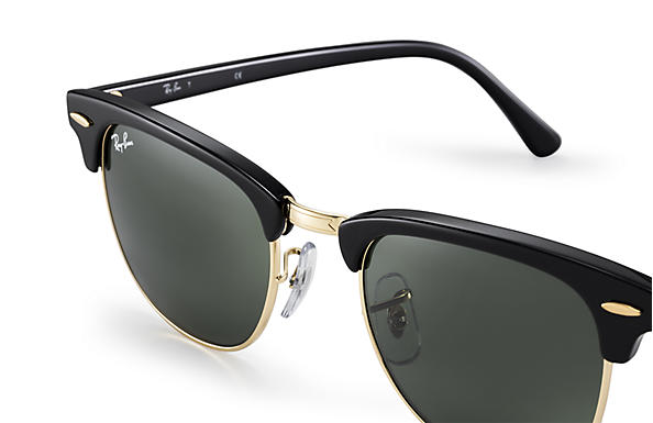 ray ban clubmaster cristal negro