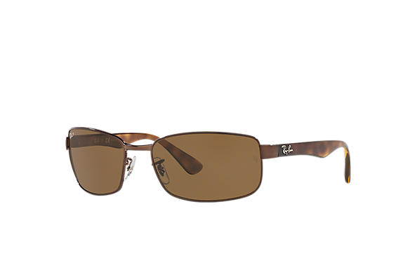 44fdfce55c2 Ray-Ban RB3478 Brown - Metal - Brown Polarized Lenses - 0RB3478014 ...