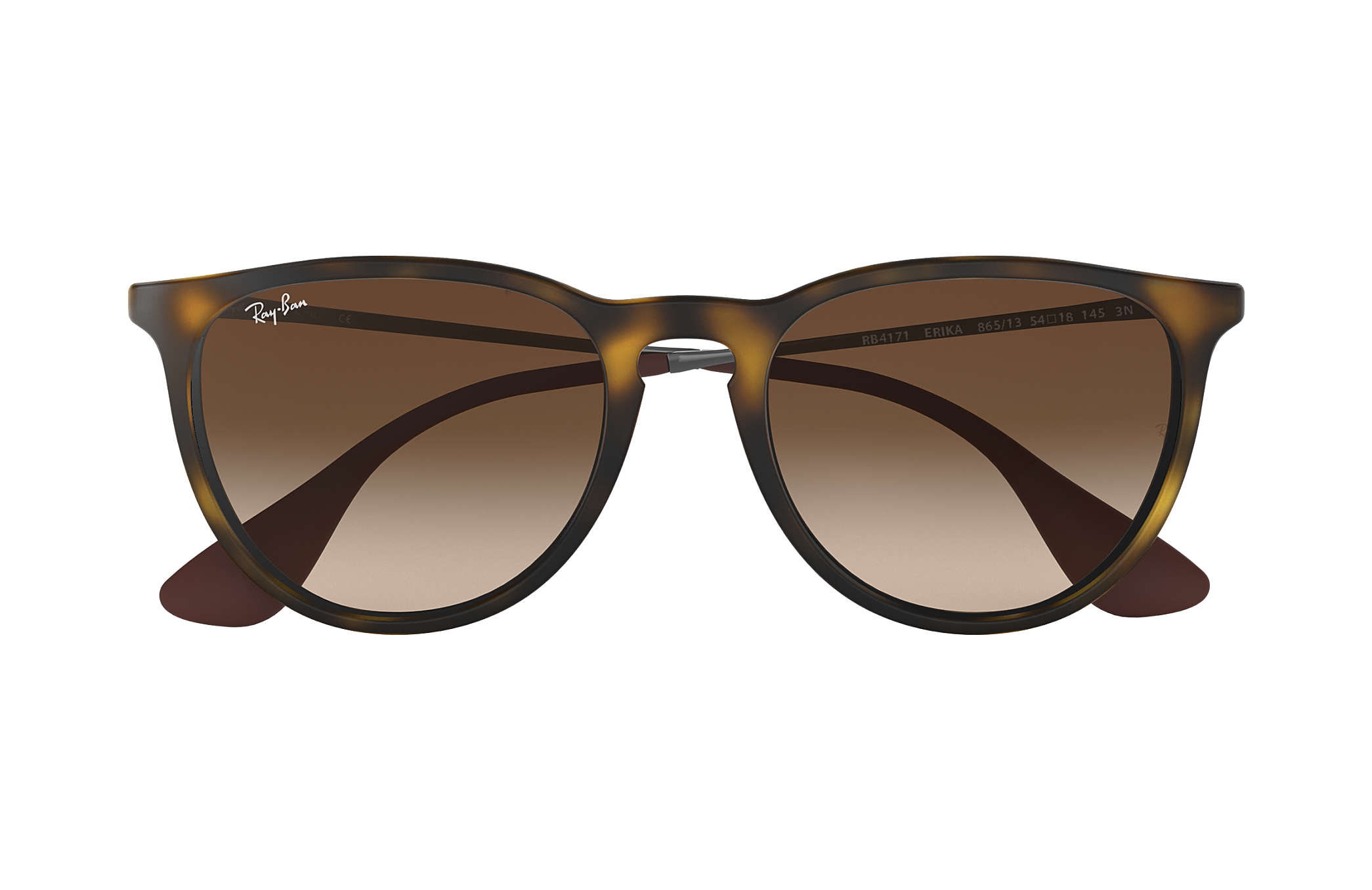 9a777754eaeec8 Ray-Ban Erika Classic RB4171 Tortoise - Nylon - Brown Lenses ...