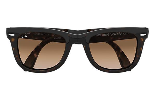 1a63df30db Ray-Ban Wayfarer Folding Classic RB4105 Tortoise - Nylon - Light ...