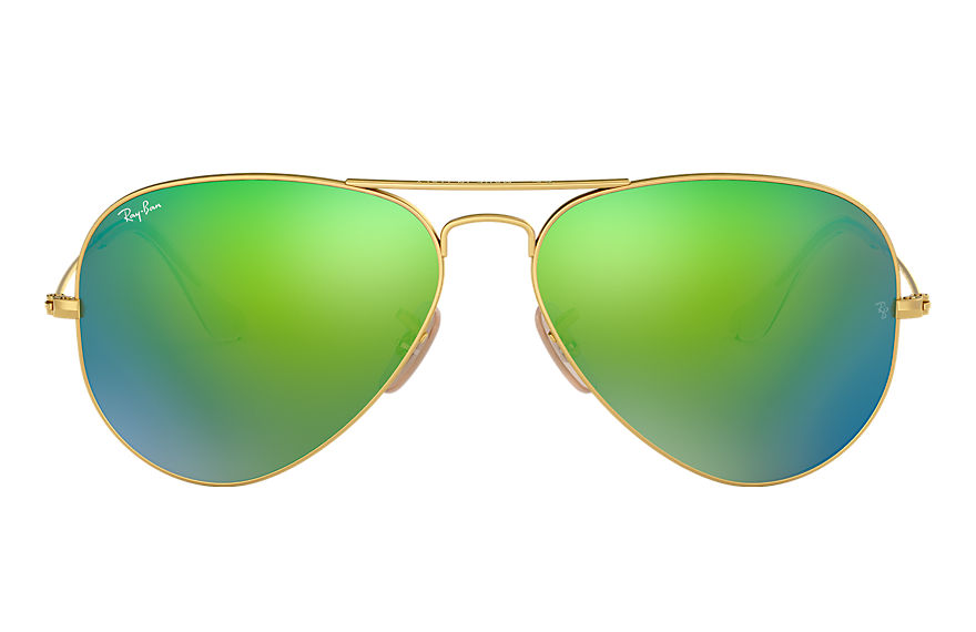 Ray-Ban  sonnenbrillen RB3025 UNISEX 047 aviator flash lenses gold 8053672000542