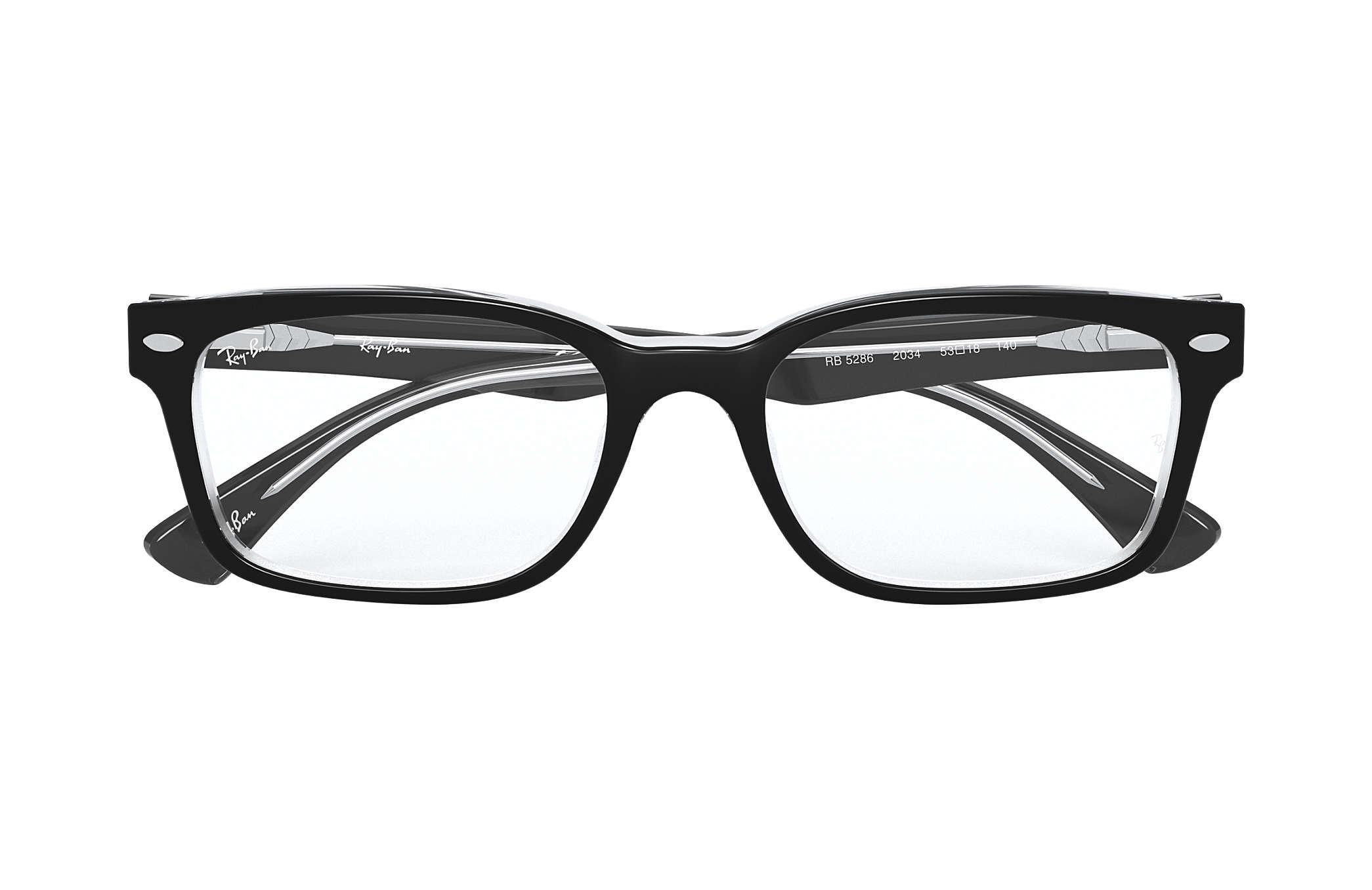Occhiali da vista Ray Ban RB5286 Nero Acetato
