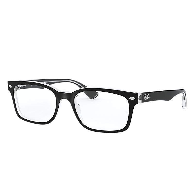 Image of Ray-Ban Black Eyeglasses - Rb5286