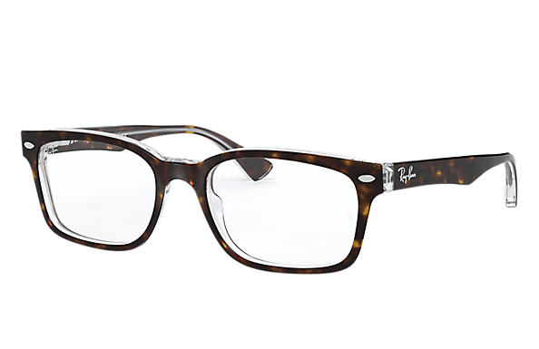 Ray-Ban 0RX5286-RB5286 Havane,Transparent OPTICAL