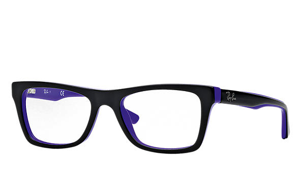 Ray-Ban 0RX5289-RB5289 Preto,Violeta OPTICAL