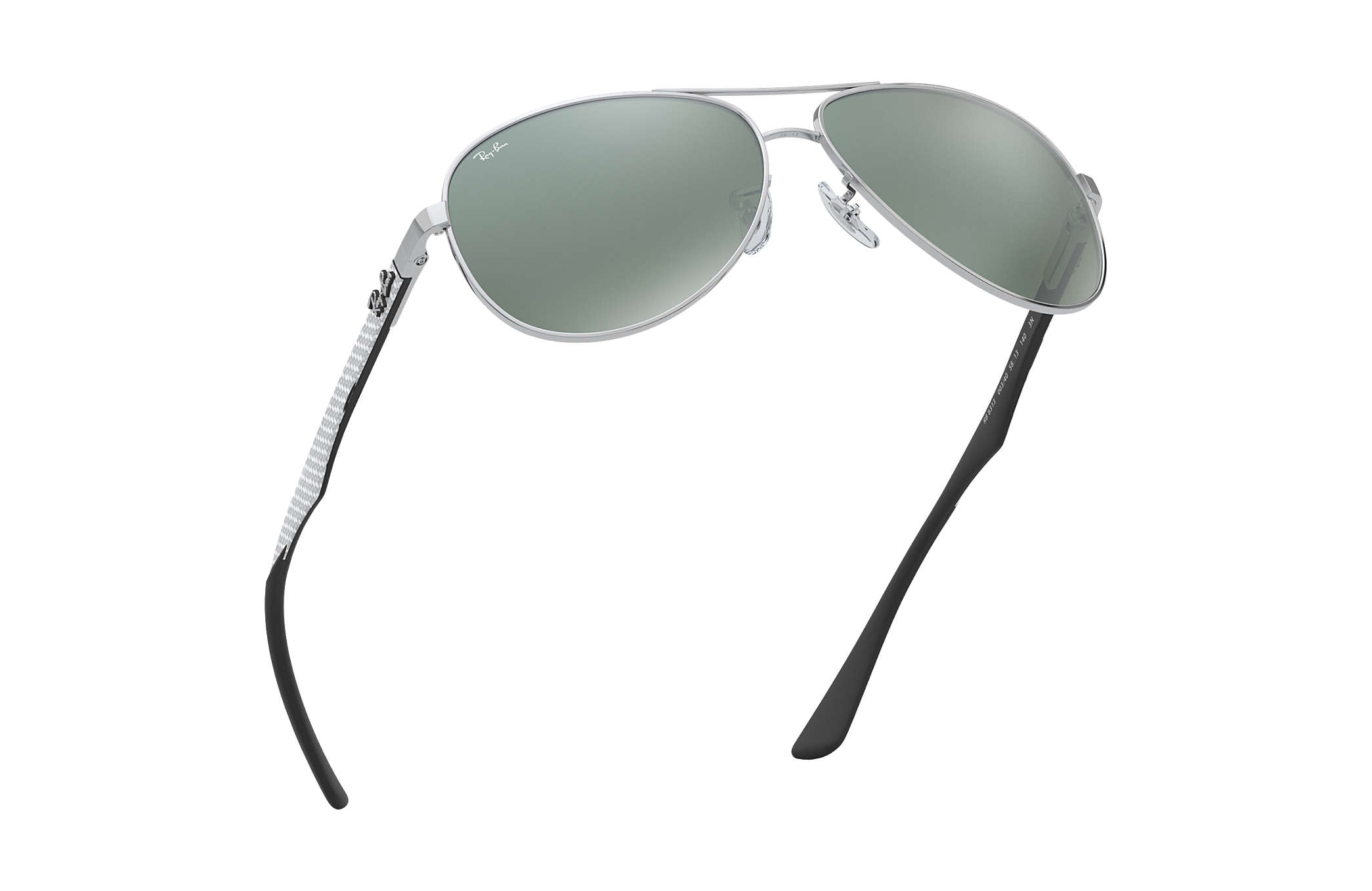4b6a989c4de Ray-Ban RB8313 Silver - Carbon Fibre - Silver Lenses - 0RB8313003 ...