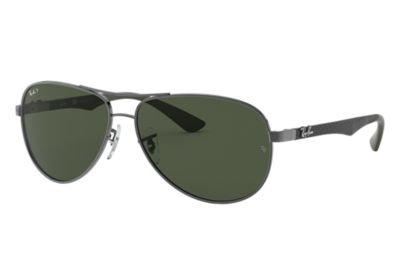 727d64f78ce Ray-Ban RB8313 Silver - Carbon Fibre - Silver Lenses - 0RB8313003 4061