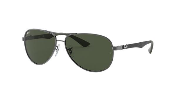 4d74b09c651 Ray-Ban RB8313 Gunmetal - Carbon Fibre - Green Polarized Lenses -  0RB8313004 N561