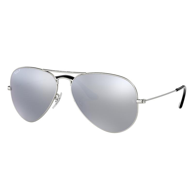 Ray-Ban RB3025 Polarised Aviator Sunglasses