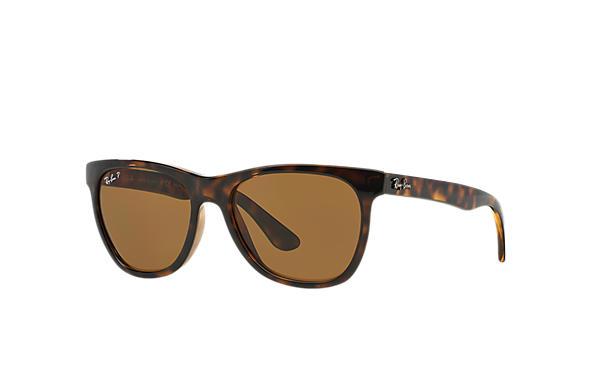 439cbfa211e Ray-Ban RB4184 Tortoise - Nylon - Brown Polarized Lenses ...