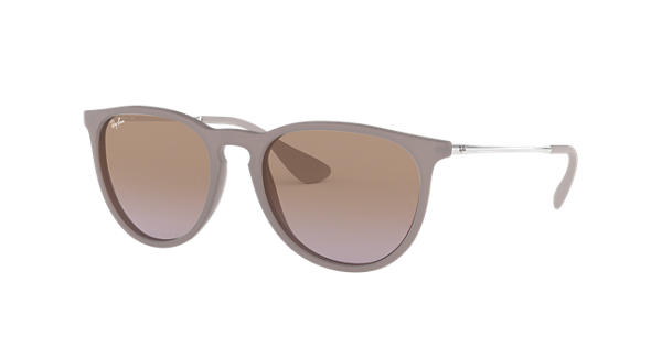 a6ff82d4ae Ray-Ban Erika Classic RB4171 Brown - Nylon - Brown Violet Lenses -  0RB417160006854