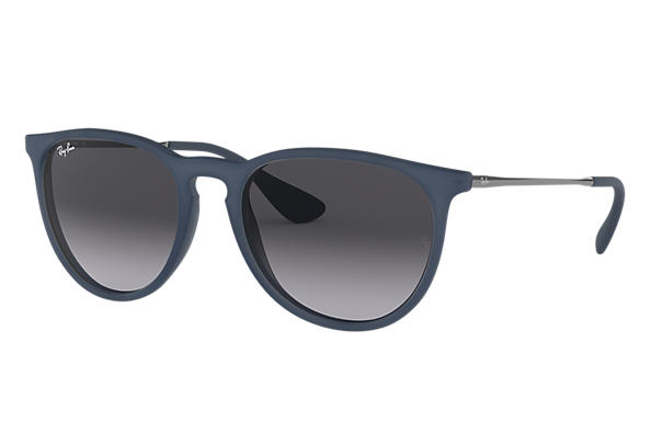 f6594ca21b5 Ray-Ban Erika Color Mix RB4171 Blue - Nylon - Grey Lenses ...