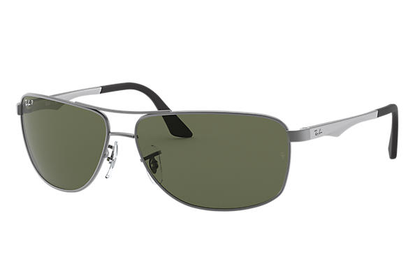 Ray-Ban 0RB3506-RB3506 Gun; Argent SUN