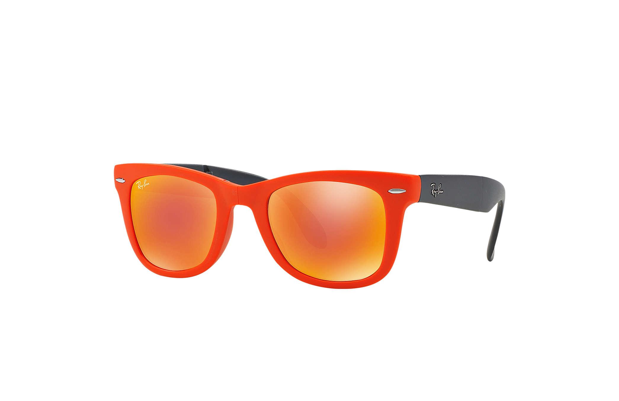 ray ban clubmaster naranja