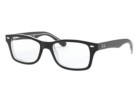 3a034dd9b2ec76 Ray-Ban prescription glasses RY1531 Black - Acetate - 0RY1531352948 ...