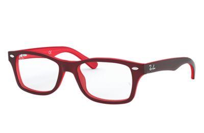 29aee26297 Ray-Ban prescription glasses RY1531 Black - Acetate - 0RY1531352948 ...