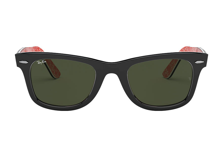 Ray-Ban  sunglasses RB2140F UNISEX 011 original wayfarer rare prints 黑色 8053672054705