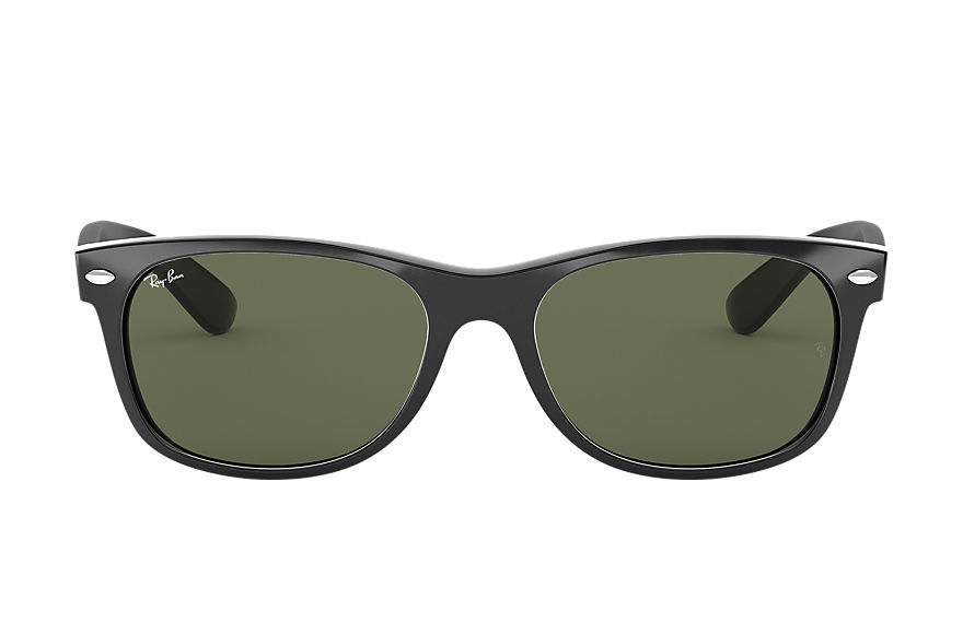 Ray-Ban  sunglasses RB2132F UNISEX 021 new wayfarer classic low bridge fit black 8053672060478