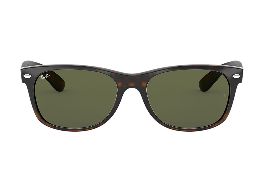 Ray-Ban  sunglasses RB2132F UNISEX 027 new wayfarer classic low bridge fit tortoise 8053672060485