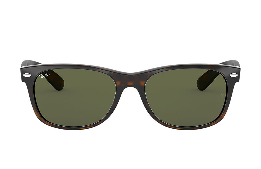 Ray-Ban  sunglasses RB2132F UNISEX 028 new wayfarer classic low bridge fit gunmetal 8053672060515