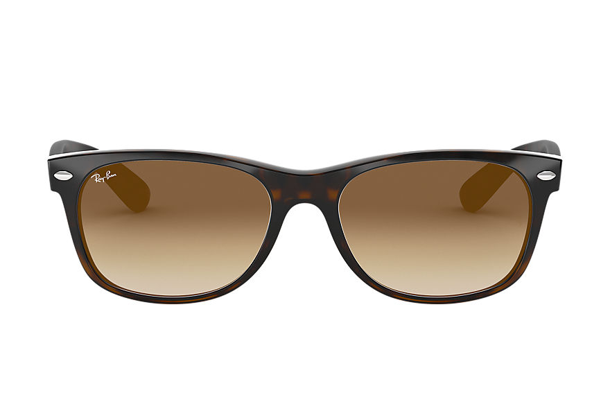 Ray-Ban  sunglasses RB2132F UNISEX 022 new wayfarer classic low bridge fit tortoise 8053672060539
