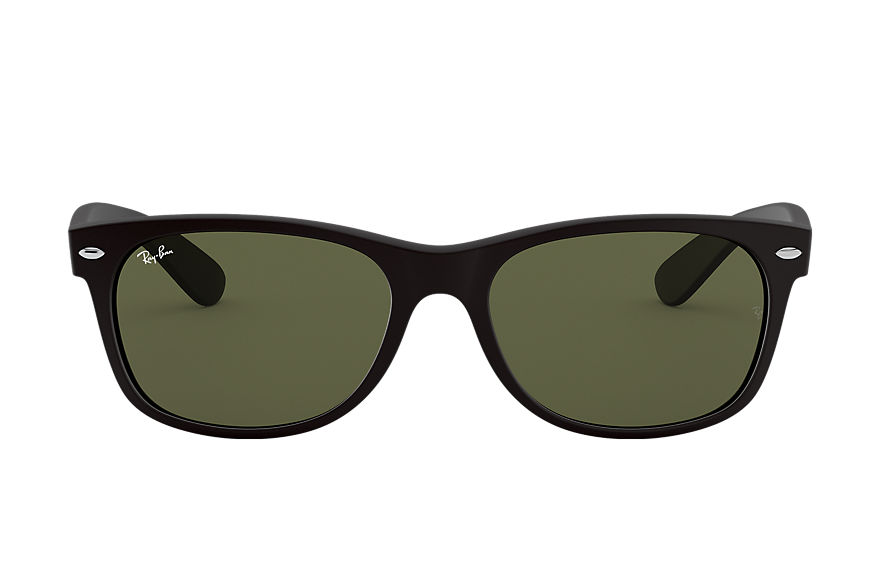 Ray-Ban  sunglasses RB2132F UNISEX 019 new wayfarer matte low bridge fit black 8053672060553