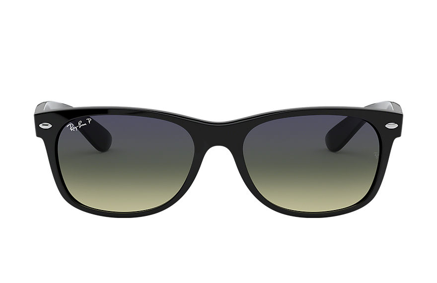 Ray-Ban  sunglasses RB2132F UNISEX 025 new wayfarer classic low bridge fit black 8053672060577