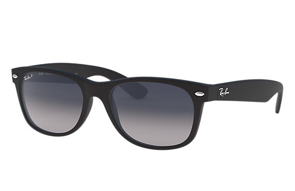 Ray-Ban 0RB2132F-NEW WAYFARER MATTE Black SUN