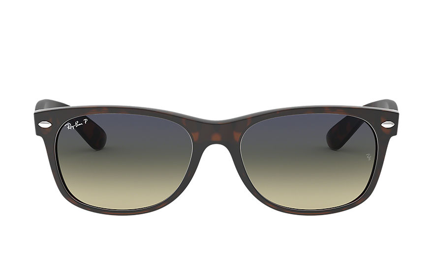 Ray-Ban  sunglasses RB2132F UNISEX 013 new wayfarer matte low bridge fit tortoise 8053672060614