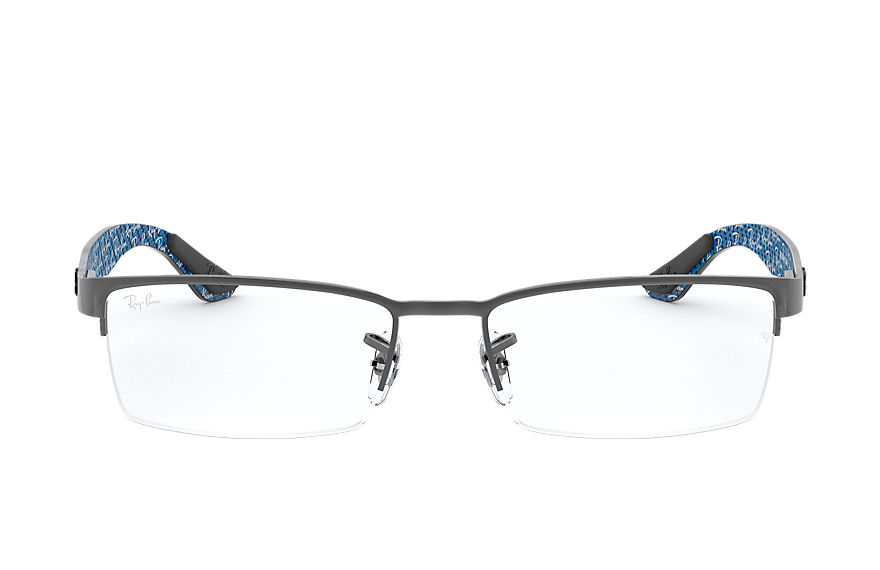 Ray-Ban  eyeglasses RX8412 MALE 008 rb8412 枪色 8053672060850