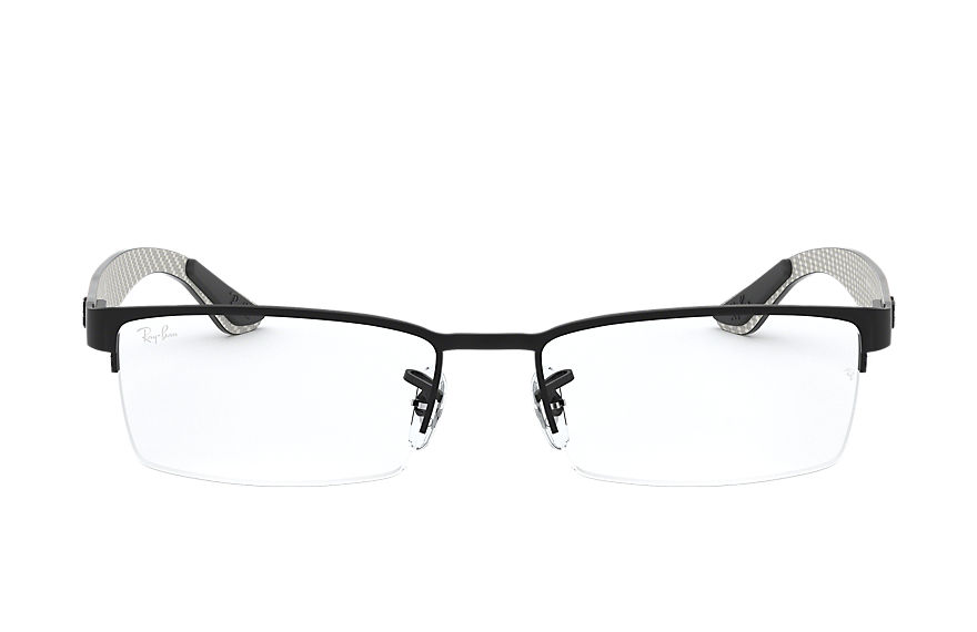 Ray-Ban  eyeglasses RX8412 MALE 009 rb8412 黑色 8053672060867