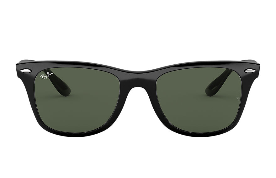 Ray-Ban WAYFARER LITEFORCE Black with Green Classic lens