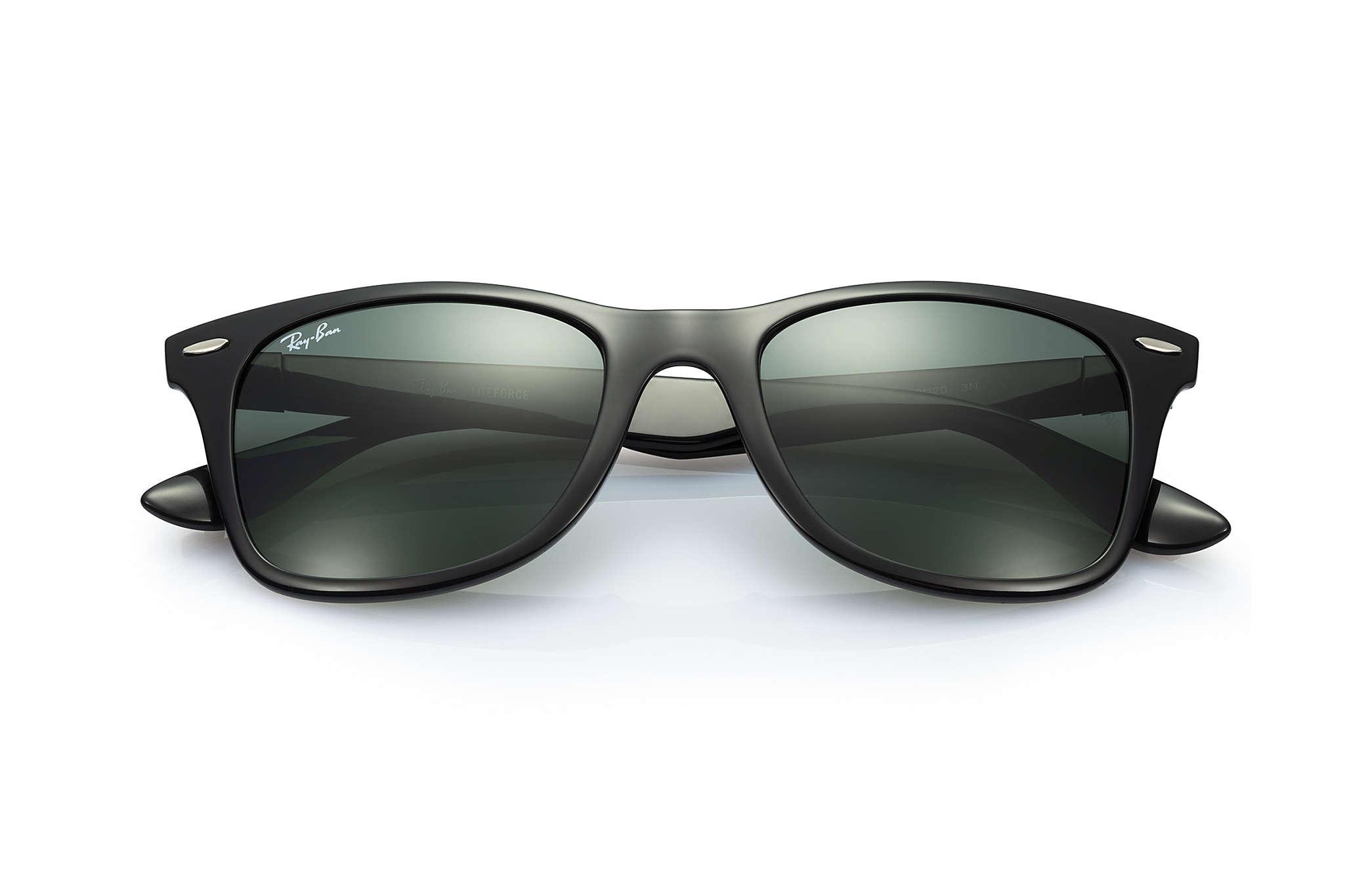 ray ban aviator liteforce matte black
