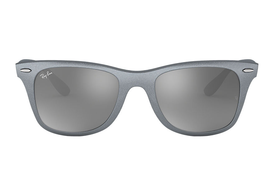 Ray-Ban Sunglasses WAYFARER LITEFORCE Silver with Grey Gradient Mirror lens