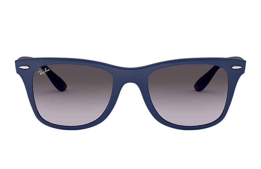 Ray-Ban  sunglasses RB4195 UNISEX 002 wayfarer liteforce blue 8053672067095