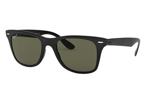 15201b3e8 Ray-Ban Wayfarer Liteforce RB4195 Black - Liteforce - Green ...