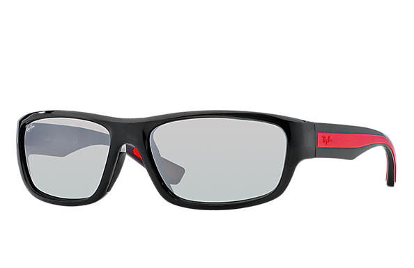 Ray-Ban 0RB4196-RB4196 Grey; Red,Grey SUN