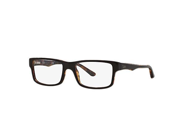 7210ac79e Óculos de grau Ray-Ban RB5245 Marrom - Acetato - 0RX5245522054 | Ray ...