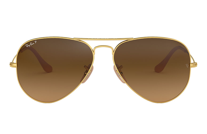 Ray-Ban  sunglasses RB3025 UNISEX 039 aviator gradient gold 8053672087925
